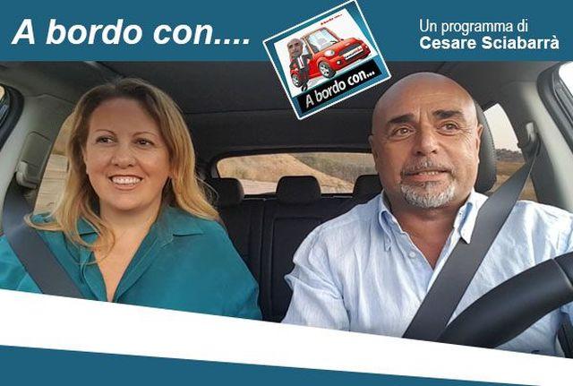 """La-nostra-portavoce,-Giusy-Savarino,-ospite-della-trasmissione-""""A-bordo-con"""""""